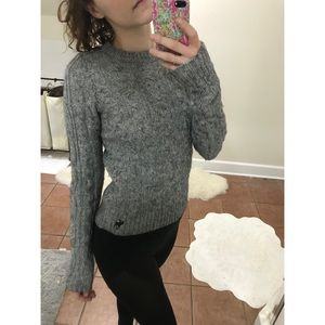 Abercrombie & Fitch Gray Sweater size M